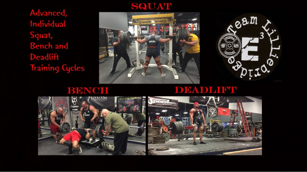 squat bench deadlift page